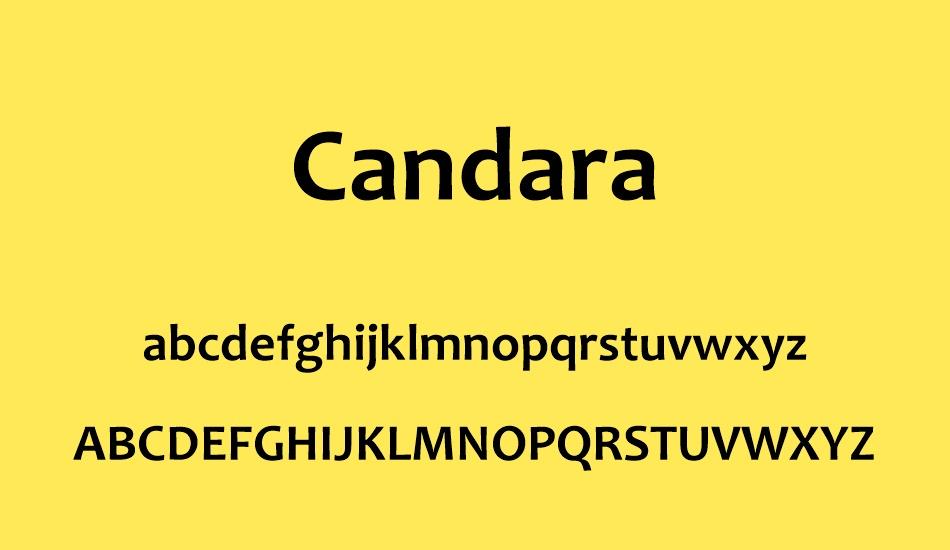 Candara Font-3