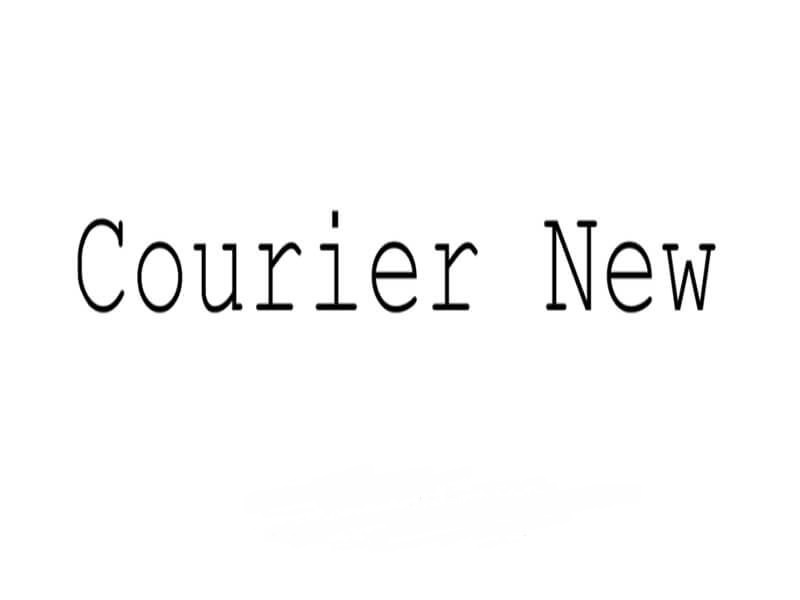 Courier-New-Font
