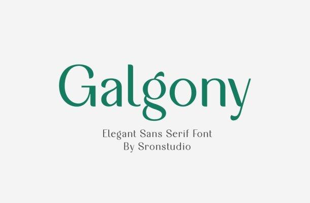 Galgony Font