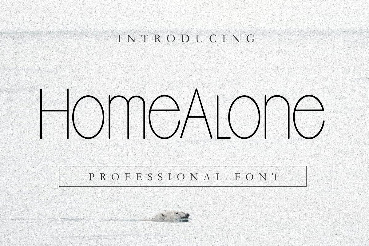 Home-Alone-Sans-Seri-Font-1