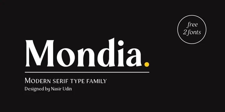 Mondia Font-1