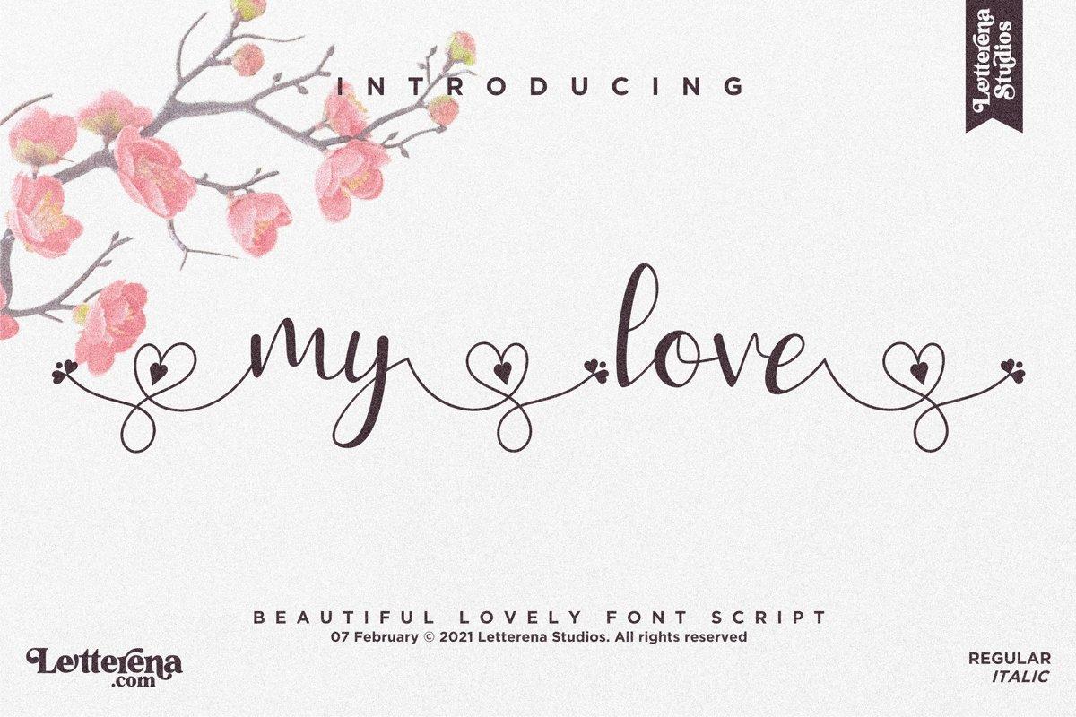 My Love Font-1