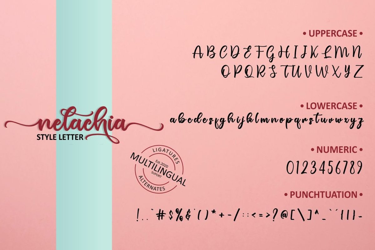 Nelachia Font-3