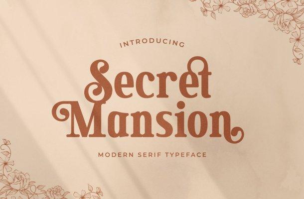 Secret Mansion Font