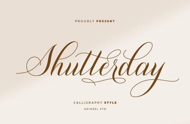 Shutterday Font