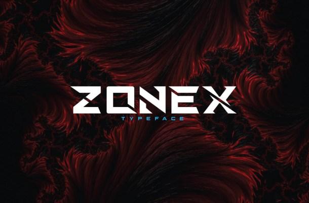 Zonex Typeface
