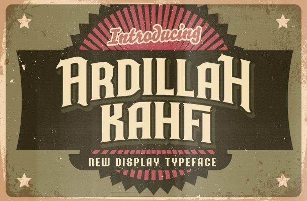 Ardilah Kafi Font