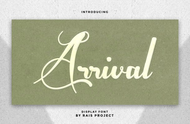 Arrival Font