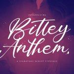 Bitley Anthem Font