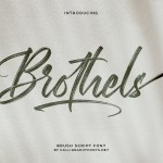 Brothels Font
