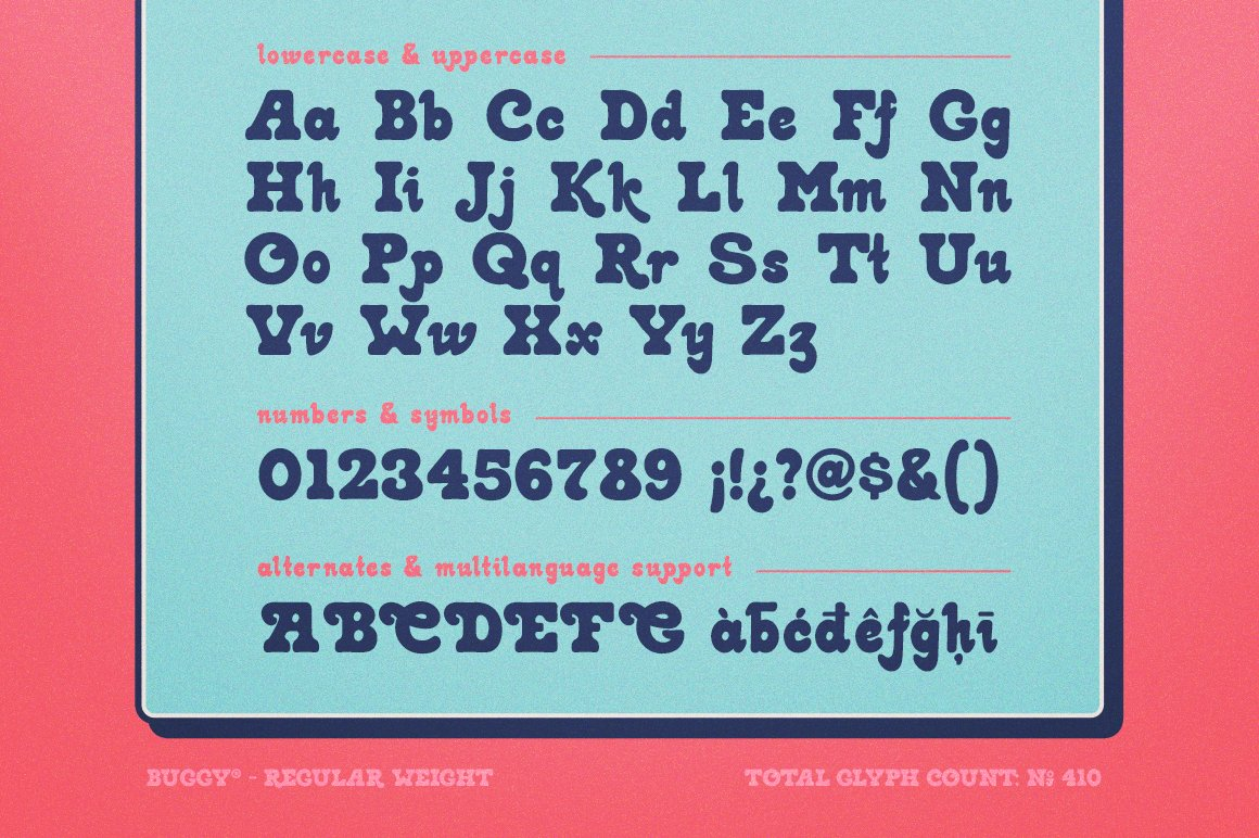 Buggy Font-3