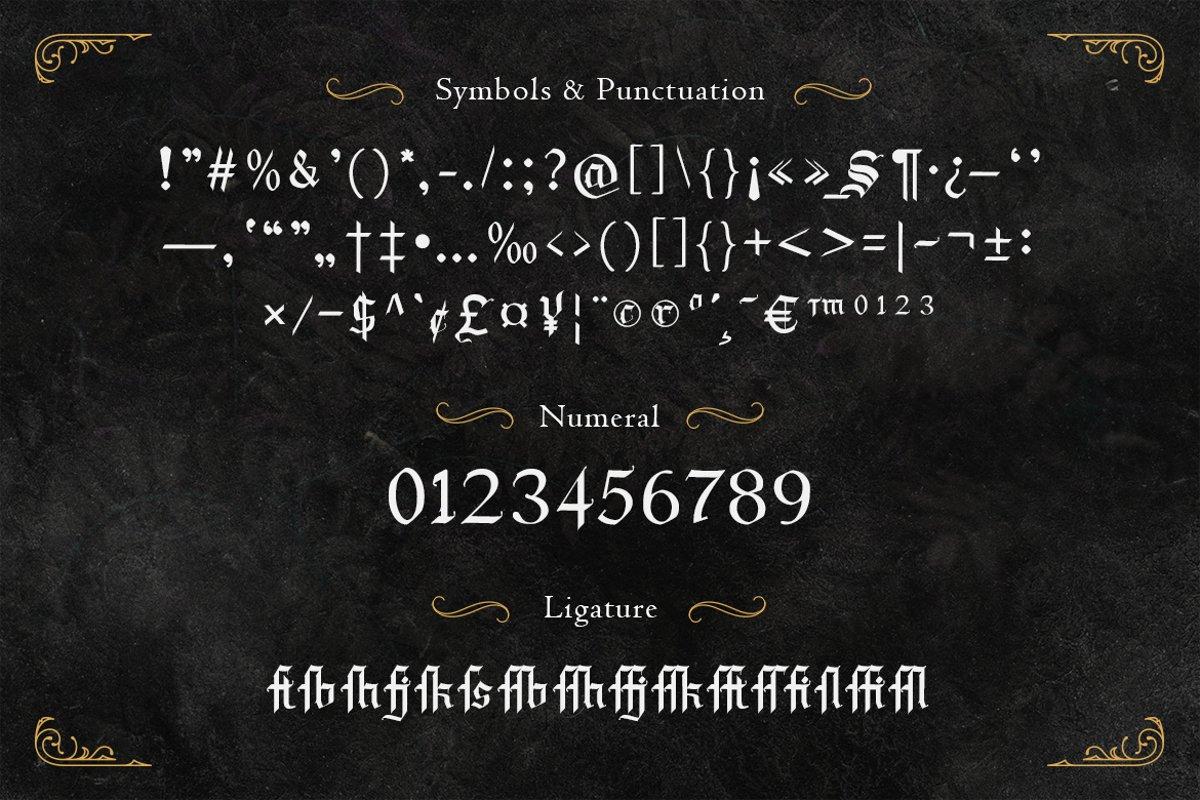 Draculie Font-3