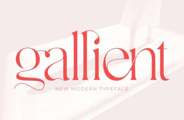 Gallient Font