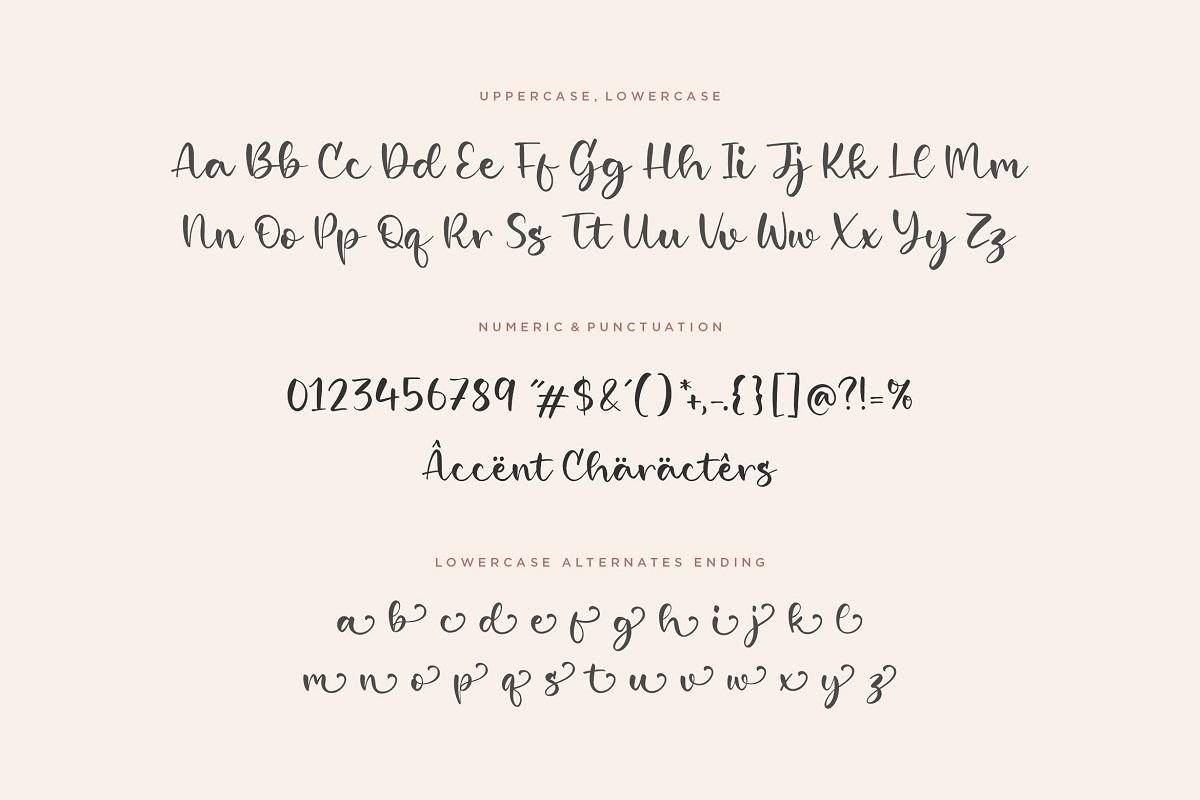 Girlish Font-3