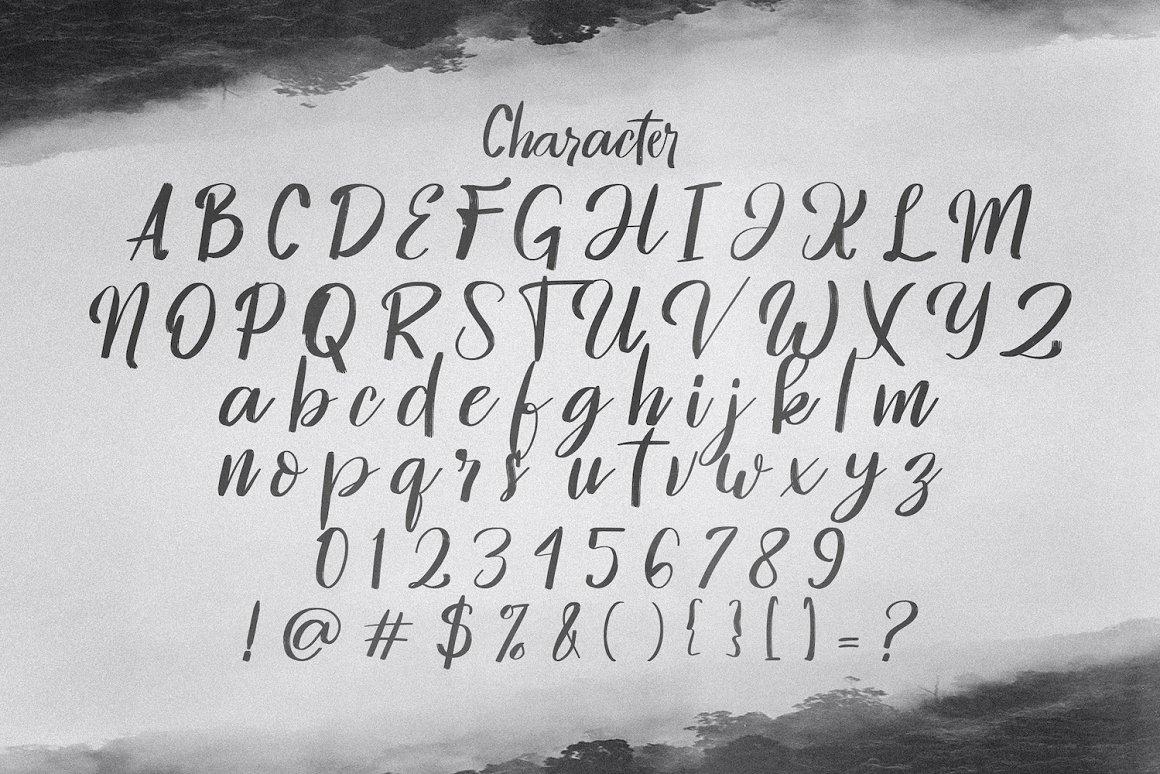 Hontizema Font -2