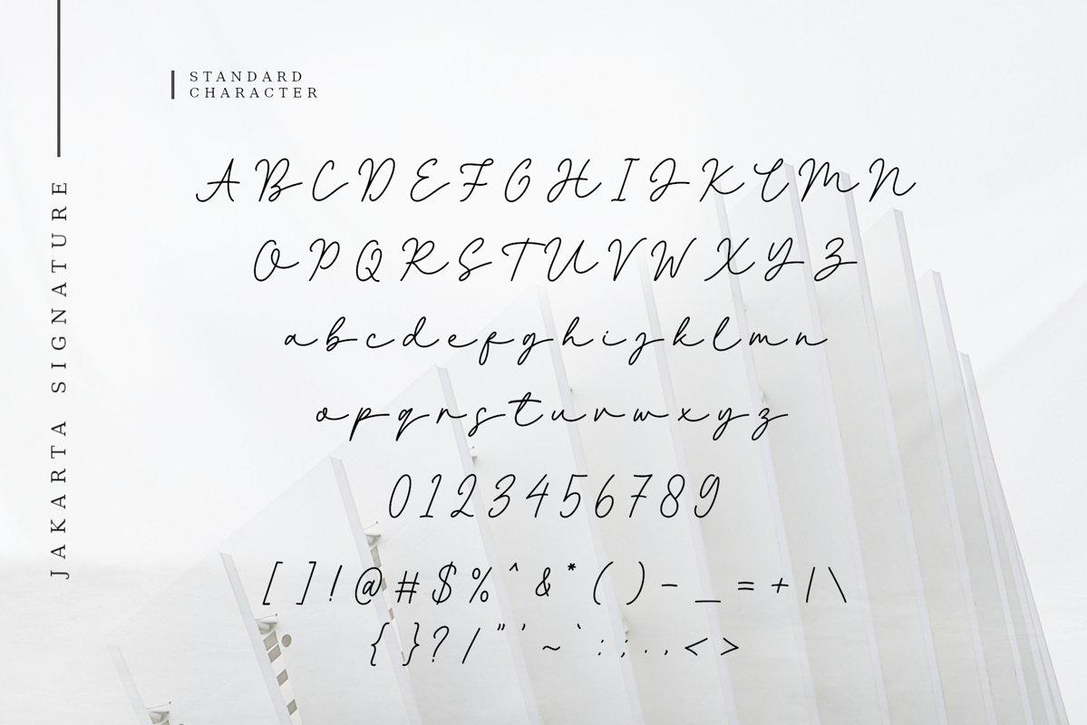 Jakarta Font-3