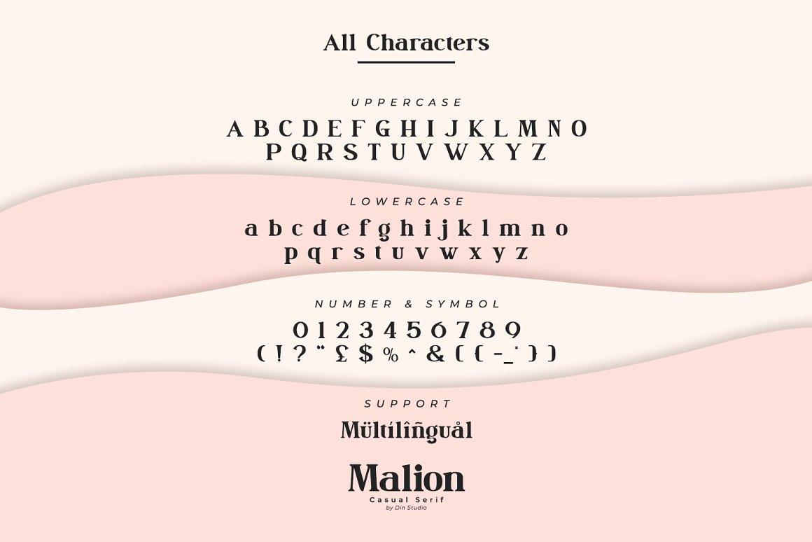 Malion Font-3