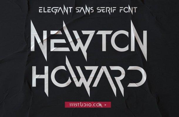 Newton Howard Font