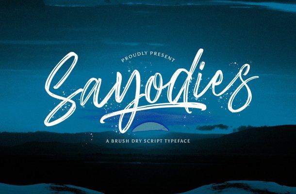 Sayodies-Font