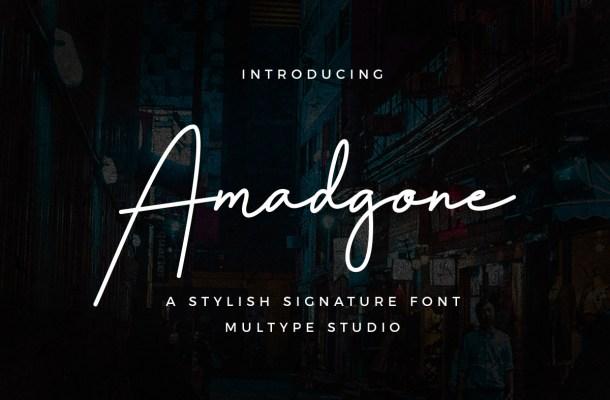 Amadgone Font