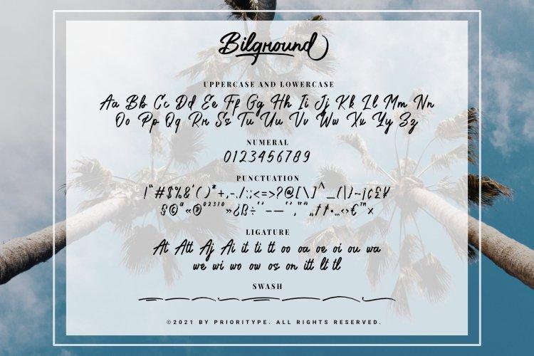 Bilground Font-3