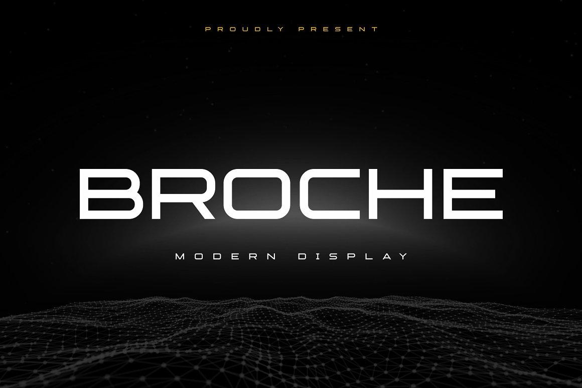 Broche Font