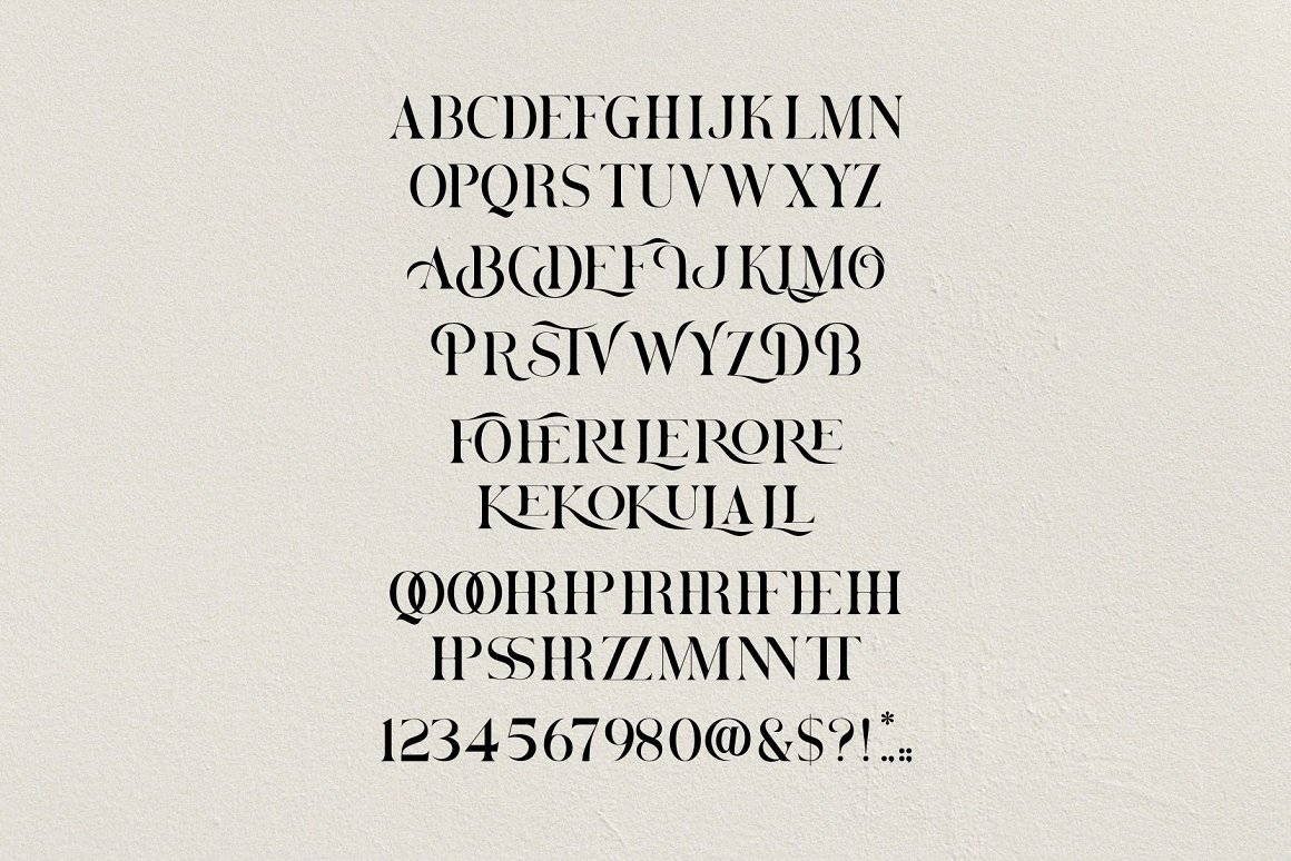 Brovile Font-3