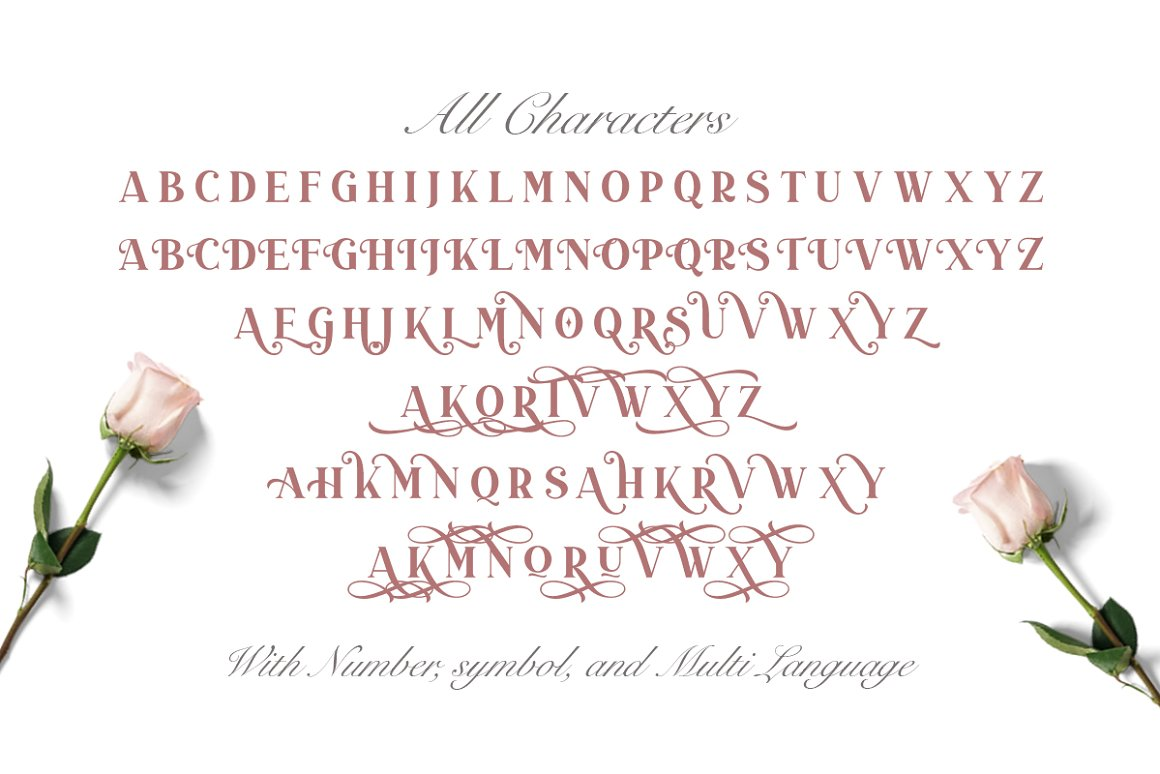 Duarose Font-3