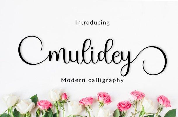 Mulidey Font