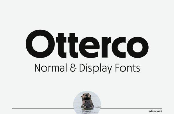 Otterco Font Family