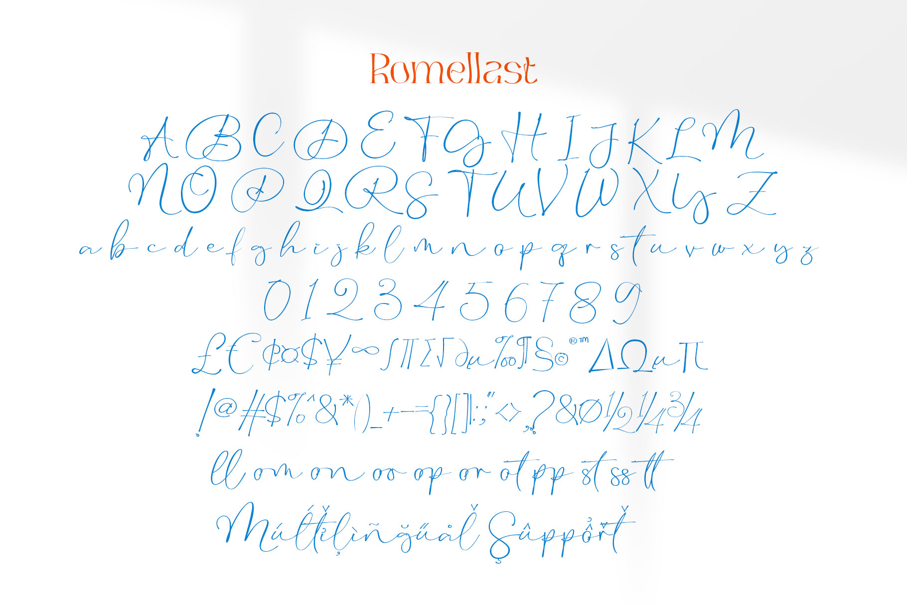 Romellast Font-3