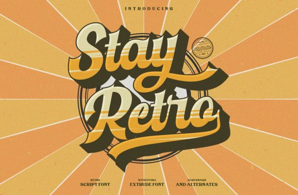 Stay Retro Font