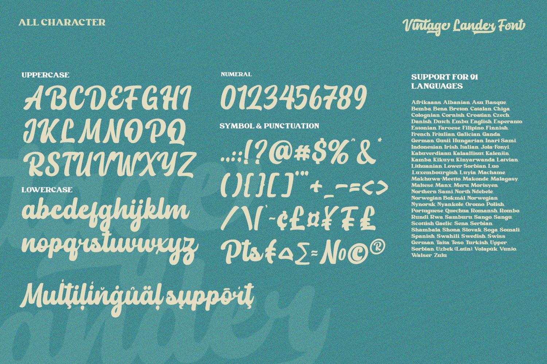 Vintage Lander Font-3