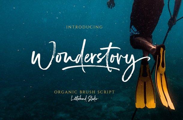Wonderstory Font