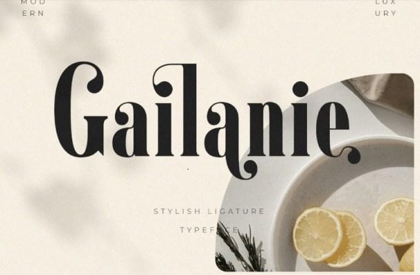 Gailanie Font