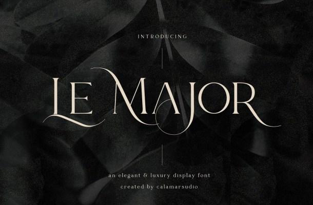 Le Major Font