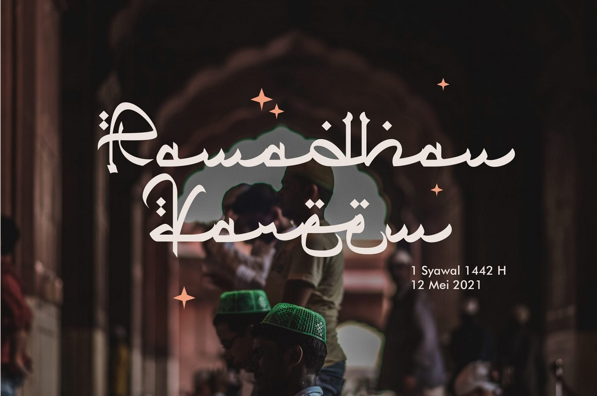 Qiyamu Ramadhan Font-2