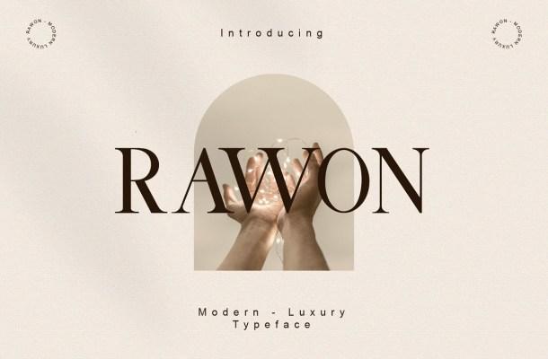 Rawon Font