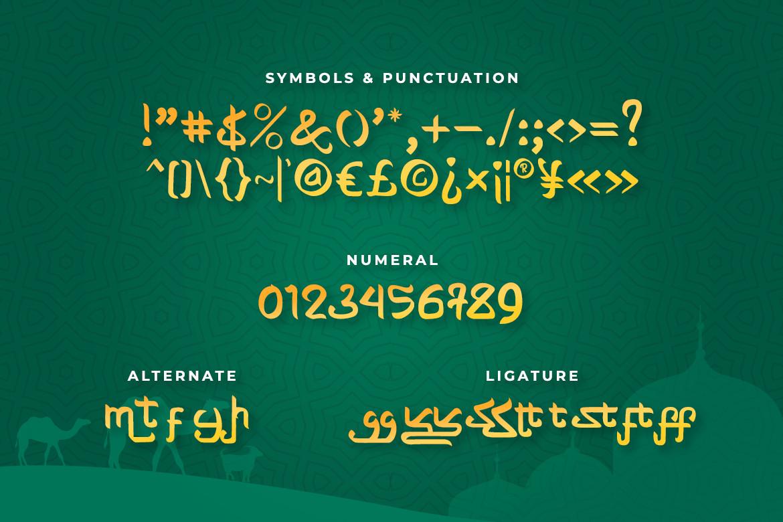 Shayan Font-3