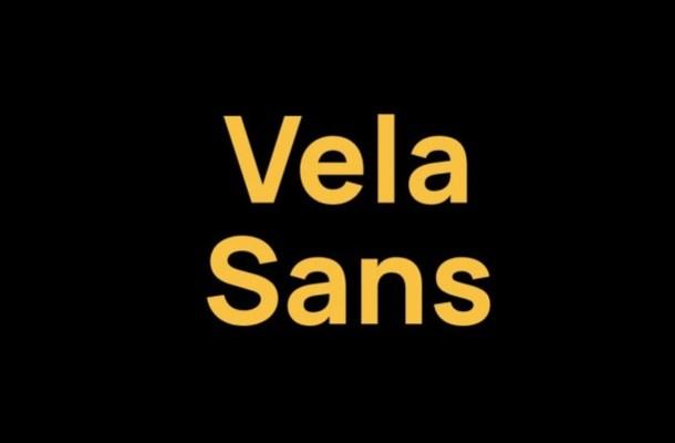 Vela Sans Font