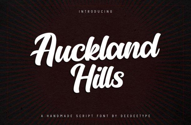 Auckland Hills Font