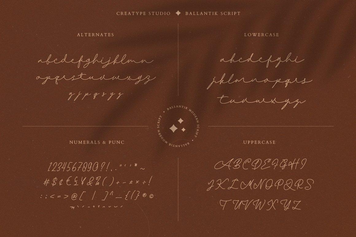 Ballantik Font-3