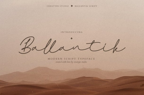 Ballantik Font