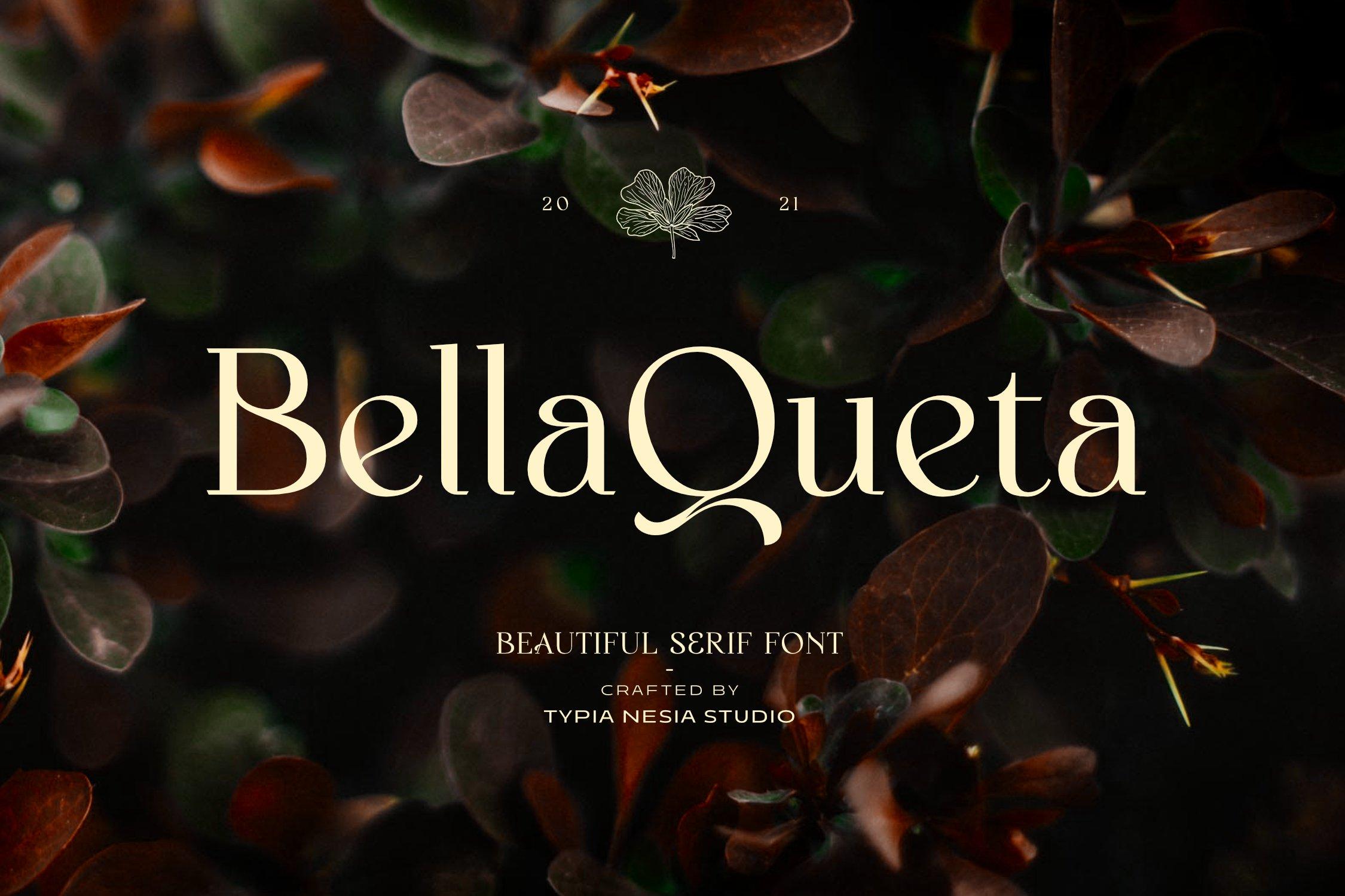 Bella Queta Font