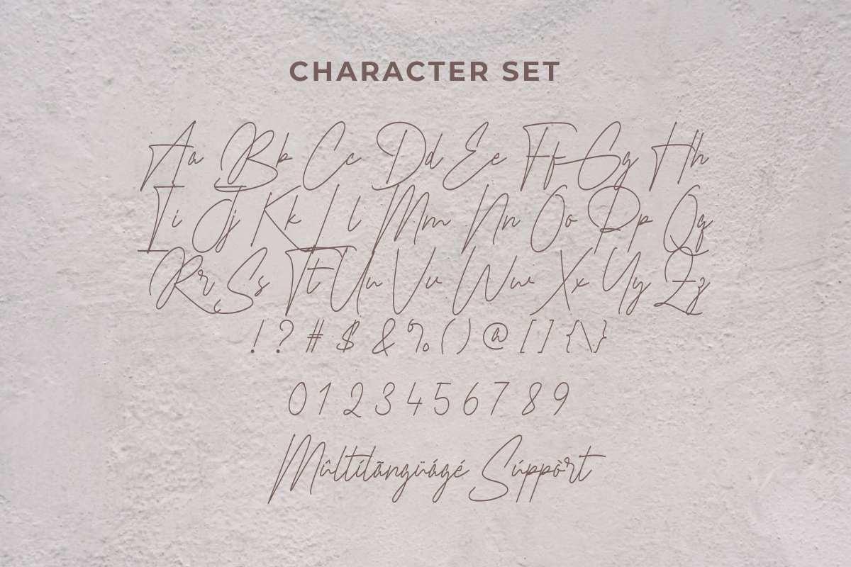 Braselton Font-3