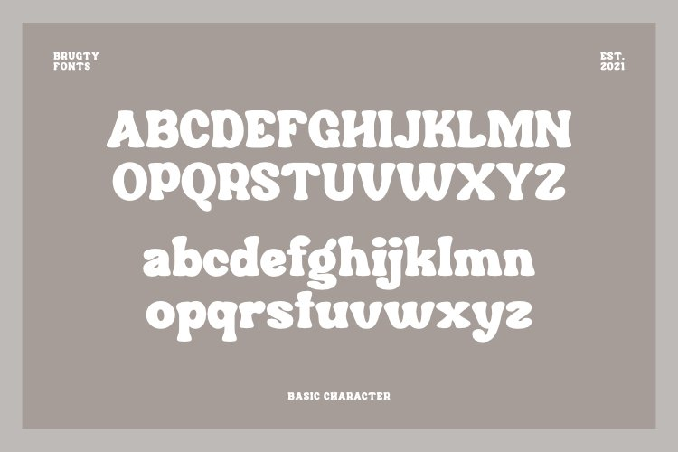 Brugty Font-2