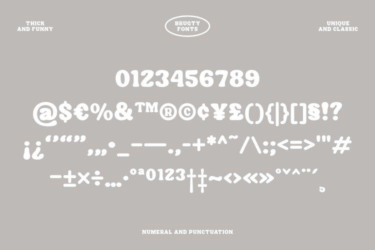 Brugty Font-3
