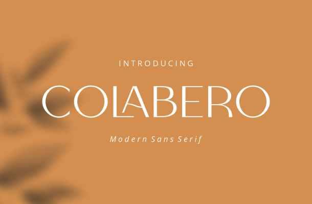 Colabero Font