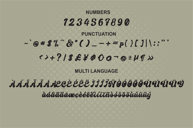 Creamer Font-3