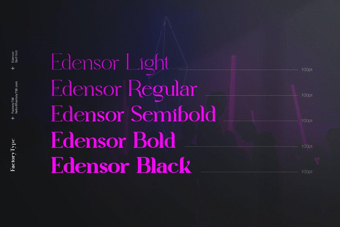 Edensor Font-2